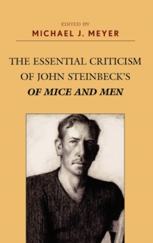 Image for The essential criticism of John Steinbeck's Of mice and men
