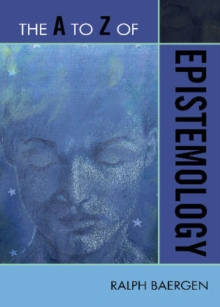 Image for The A to Z of Epistemology
