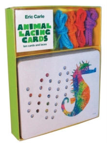 Image for Eric Carle: Animal Lacing Cards : 10 Cards & Laces
