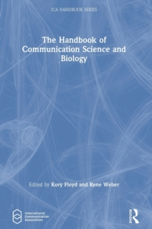 Image for The handbook of communication science and biology