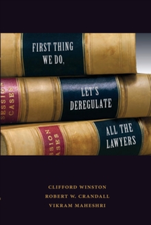Image for The first thing we do, let's deregulate all the lawyers