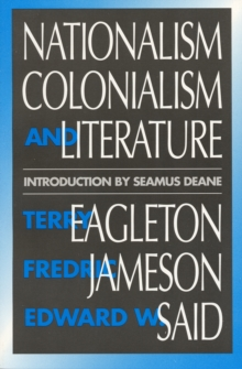 Image for Nationalism, Colonialism, and Literature