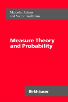 Image for Measure Theory and Probability