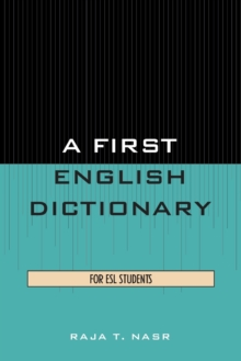 Image for A First English Dictionary : For ESL Students