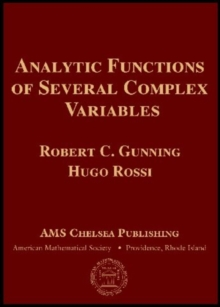 Image for Analytic Functions of Several Complex Variables