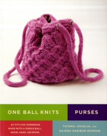 Image for Purses  : 20 stylish handbags made with a single ball, skein, hank, or spool