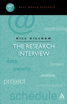 Image for The research interview