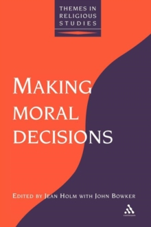 Image for Making moral decisions