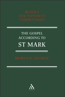 Image for A commentary on the Gospel according to St Mark