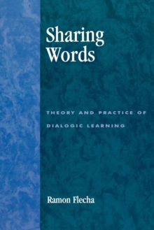 Image for Sharing words  : theory and practice of dialogic learning