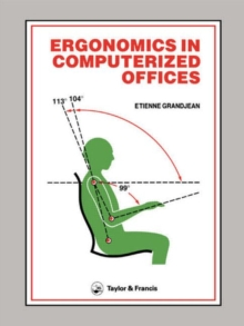 Image for Ergonomics In Computerized Offices