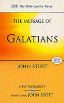 Image for The Message of Galatians : Only One Way