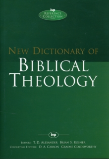 Image for New dictionary of Biblical theology