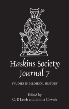 Image for The Haskins Society Journal 7 : 1995. Studies in Medieval History