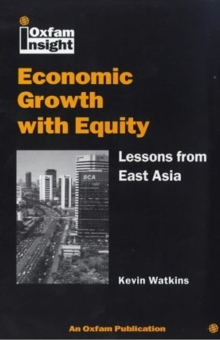 Image for Economic growth with equity  : lessons from East Asia