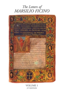 Image for The letters of Marsilio FicinoVolume 1