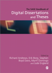 Image for The SAGE handbook of digital dissertations and theses