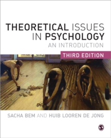Image for Theoretical issues in psychology  : an introduction