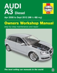 Image for Audi A3 diesel owner's workshop manual  : 2008-2012