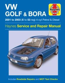 Image for VW Golf & Bora service and repair manual