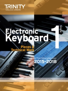 Image for Electronic Keyboard 2015-2018. Grade 1