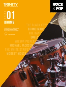 Image for Trinity College London Rock & Pop 2018 Drums Grade 1 CD Only