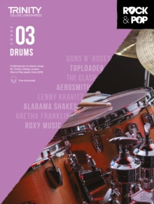 Image for Trinity College London Rock & Pop 2018 Drums Grade 3
