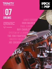 Image for Trinity College London Rock & Pop 2018 Drums Grade 7