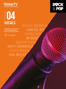 Image for Trinity College London Rock & Pop 2018 Vocals Grade 4