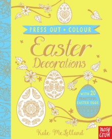 Press Out and Colour: Easter Eggs - McLelland, Kate