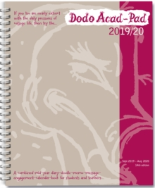 Image for Dodo Acad-Pad 2019-2020 Mid Year Desk Diary, Academic Year, Week to View : A mid-year diary-doodle-memo-message-engagement-calendar-organiser-planner book for students, teachers & scholars