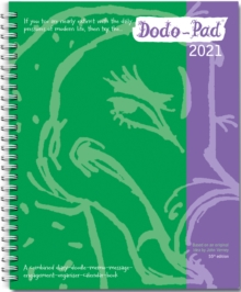 Image for Dodo Pad Original Desk Diary 2021 - Week to View Calendar Year Diary : A Family Diary-Doodle-Memo-Message-Engagement-Organiser-Calendar-Book with room for up to 5 people's appointments/activities