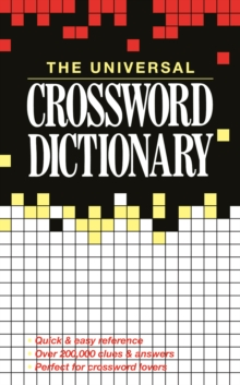 Image for The Universal Crossword Dictionary