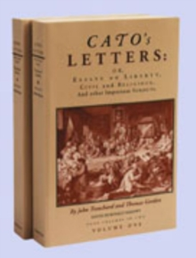 Image for Cato's lettersVolumes 1 & 2,: Essays on liberty, civil & religious & other important subjects