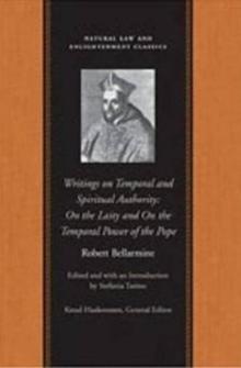 Image for Writings on temporal & spiritual authority  : on the laity & on the temporal power of the Pope
