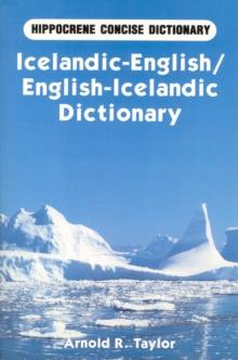 Image for Icelandic-English / English-Icelandic Concise Dictionary