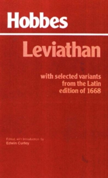 Image for Leviathan : With selected variants from the Latin edition of 1668