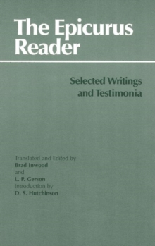 Image for The Epicurus Reader : Selected Writings and Testimonia