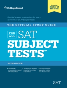 Image for The official study guide for all SAT subject tests