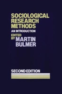 Image for Sociological research methods