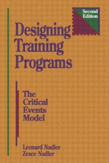 Image for Designing Training Programs