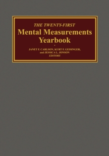 Image for The Twenty-First Mental Measurements Yearbook