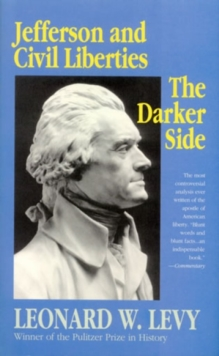Image for Jefferson and Civil Liberties : The Darker Side