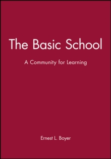 Image for The Basic School : A Community for Learning
