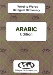 Image for English-Arabic & Arabic-English Word-to-Word Dictionary