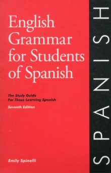 Image for English Grammar for Students of Spanish 7th edition