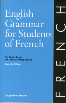 Image for English Grammar for Students of French 7th edition