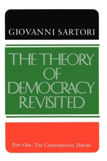 Image for The Theory of Democracy Revisited - Part One : The Contemporary Debate