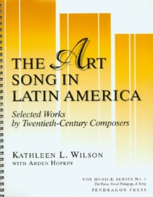 Image for Art Song in Latin America - Selected Works by 20th-Century Composers