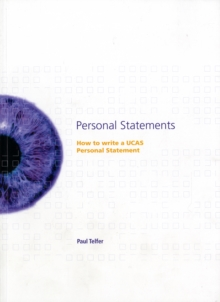 Image for Personal statements  : how to write a UCAS personal statement